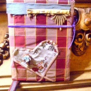 Handcrafted Altered Art Book Journal