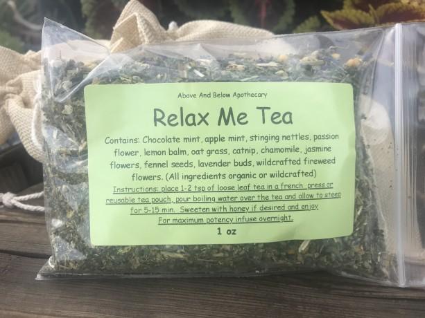 Relax Me Herbal Tea 1 oz bag