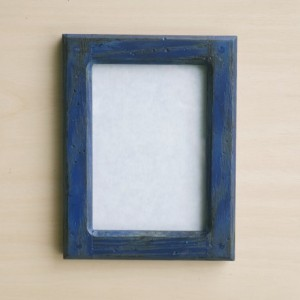 Forever 5 X 7  Distressed Blue picture frame