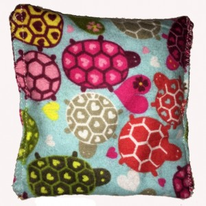 Boo-Boo Bags Hot/Cold Packs Reusable Ouchee Heat Packs 2 BooBoo Packs Total Sea Turtles