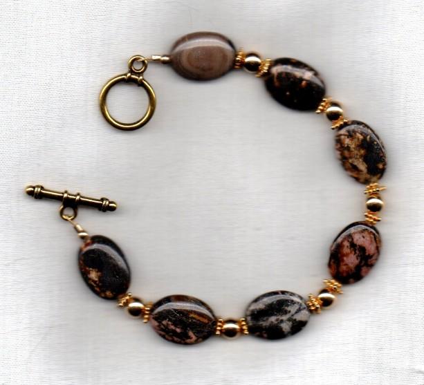 Rhondochrosite Bracelet