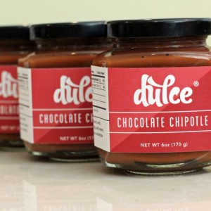 Chocolate Chipotle Dulce de Leche Trio (caramel sauce)