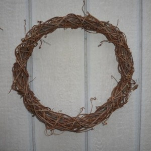 BRAIDED grapevine wreaths
