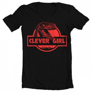 Girls' Jurassic World Clever Girl Tee