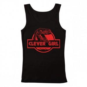 Men's Jurassic World Clever Girl Tank Top