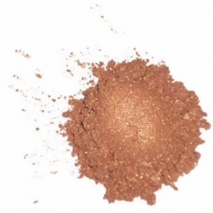 Mineral Makeup Eyeshadow- Copper Family- Loose Powder