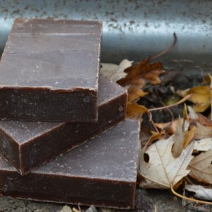 2 Cocoa Mint Soap Bars