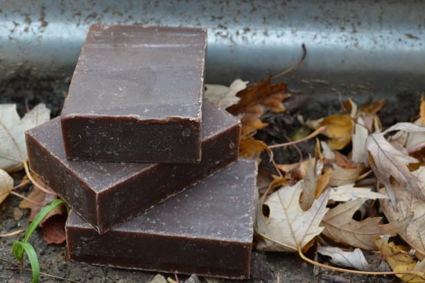 2 Cocoa Mint Soap Bars