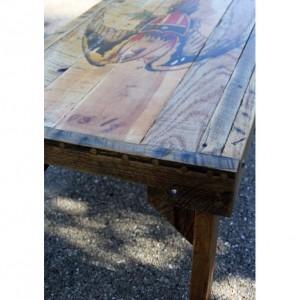 American Eagle Coffee Table. 38 x 21 x 17