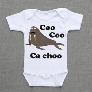Coo Coo Ca Choo beatles parody baby bodysuit