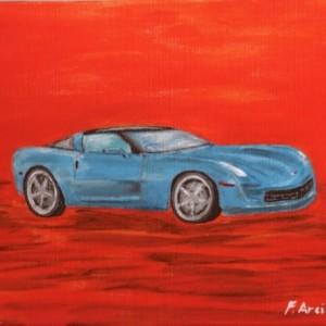 Corvette Painting
