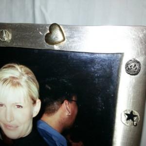Steampunk Photo Frame 5x7