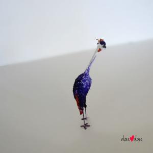 Crown Crested Crane Bird