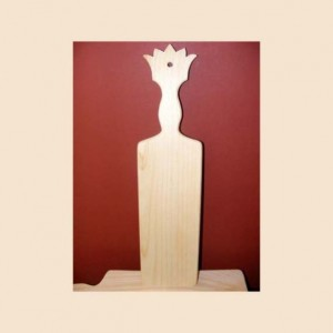 "21"" Crown Greek Fraternity Sorority Pledge Paddle Decorative Unfinished Big Sis Brother Wood Paddles"