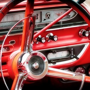 Classic Cars - Cruise O Matic - Fine Art Print