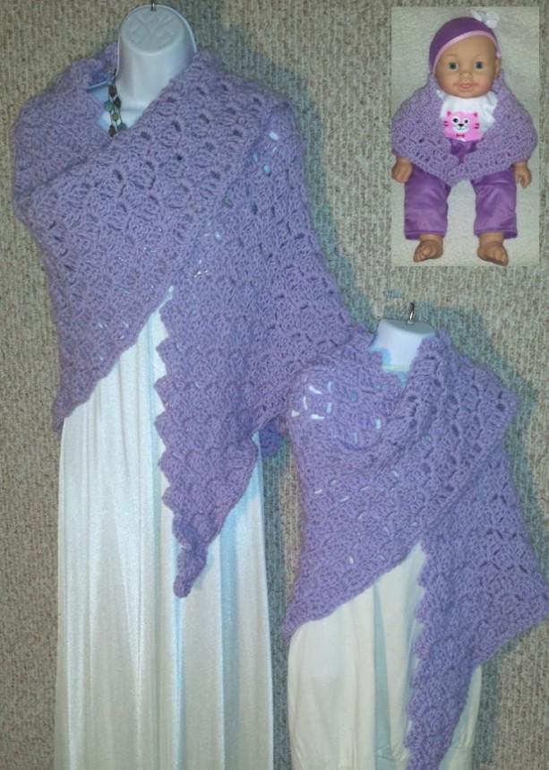 Cuddle Set Shawls Inspired by Disney Princess Rapunzel