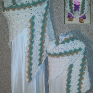 Cuddle Set Shawls Inspired by Disney Princess Tiana