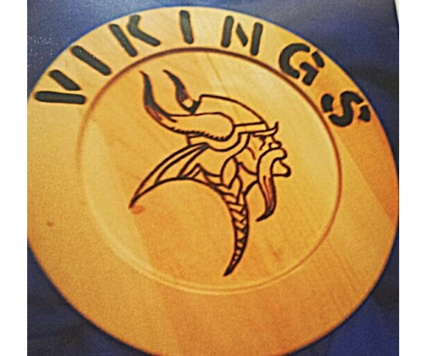 Vikings plaque