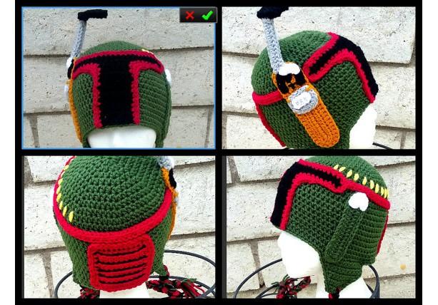 boba fett helmet,boba fett costume,halloween costume,crochet boba fett,kids clothing
