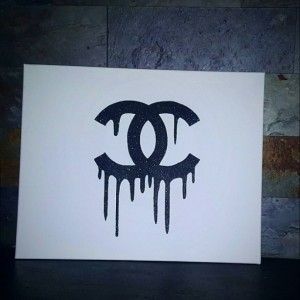 Chanel Inspired Canvas