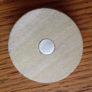 Bourbon Barrel Bung Refrigerator Magnets, set of 2, free shipping