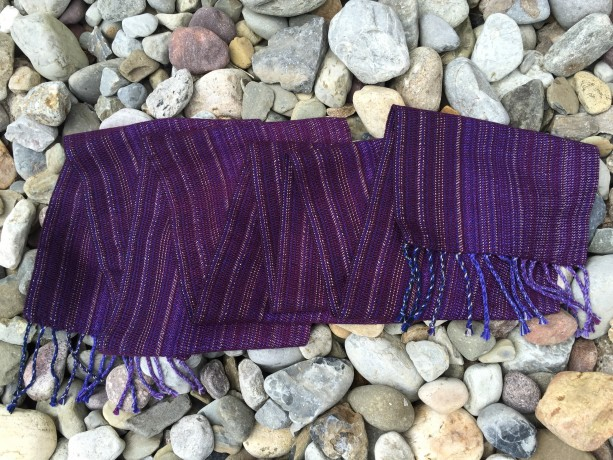 Luxury Handwoven Scarf Tencel Cotton