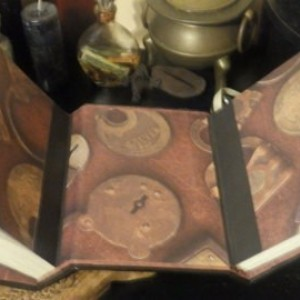 Book of Shadows Double Book Grimoire