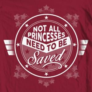 "Women's Wonder Woman ""Not All Princesses"" Tank Top"