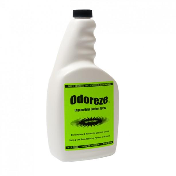 ODOREZE Natural Lagoon Odor Control Eco Spray: Treats 2,000 sq. ft.to Stop Stench