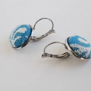 Wrap Scrap Jewelry - Earrings - Moondani Australia - You Wish Starfish - Wrap Scrap - Babywearing - Stainless Steel - Seaweed