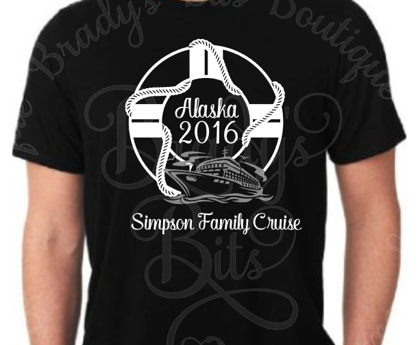 Life Preserver Cruise Shirt Personalized Aftcra