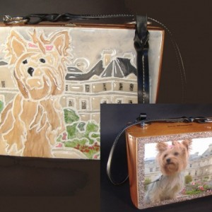 Custom Tile Handbag by Miche Mozaix