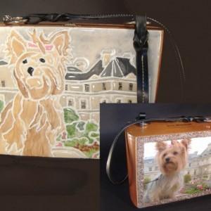 Custom Tile Handbag by Miche Mozaix