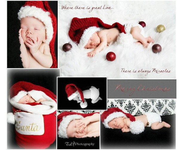 ... Newborn Christmas outfit - baby Christmas hat and diaper cover - baby  photo prop - Christmas ... - Newborn Christmas Outfit Baby Christmas Hat And Diaper Cover Aftcra