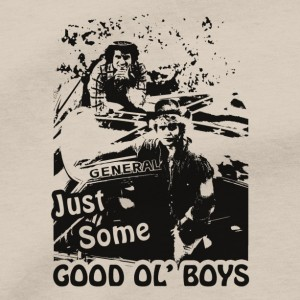 Dukes Of Hazzard Men's T Shirt, Bo And Luke Duke Boys Just Some Good Ol' Boys Waylon Jennings Unisex Cotton Tee Shirt