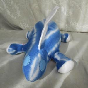 Blue Tie Dye Small Dinosaur