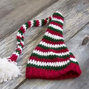 Knit Baby Hat~Photo Prop Hat-Elf Hat Size 6 Months