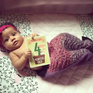 Fishtail Blanket for Newborns to 12 Months