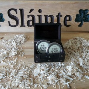 Irish beard balm gift box 2
