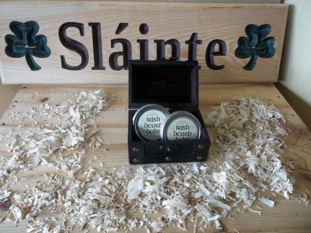 Irish beard balm gift box 2