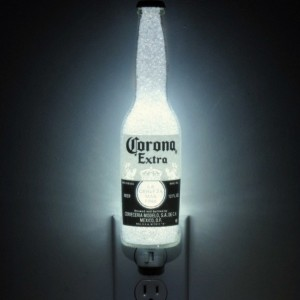 Corona Beer 12oz Night Light Bar Light Bottle Lamp Accent Lamp Eco 50,000 hr. LED