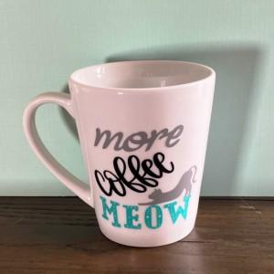 More Coffee Meow mug