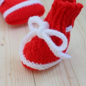 """Noah"" Bow-Knot Booties"