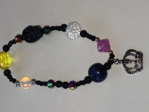 dark queen ankle bracelet