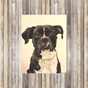 Pet Portrait (8x10), Custom Pet Portrait, Pet Portrait Custom, Custom Dog Portrait, Dog Portrait, Dog Portrait Custom