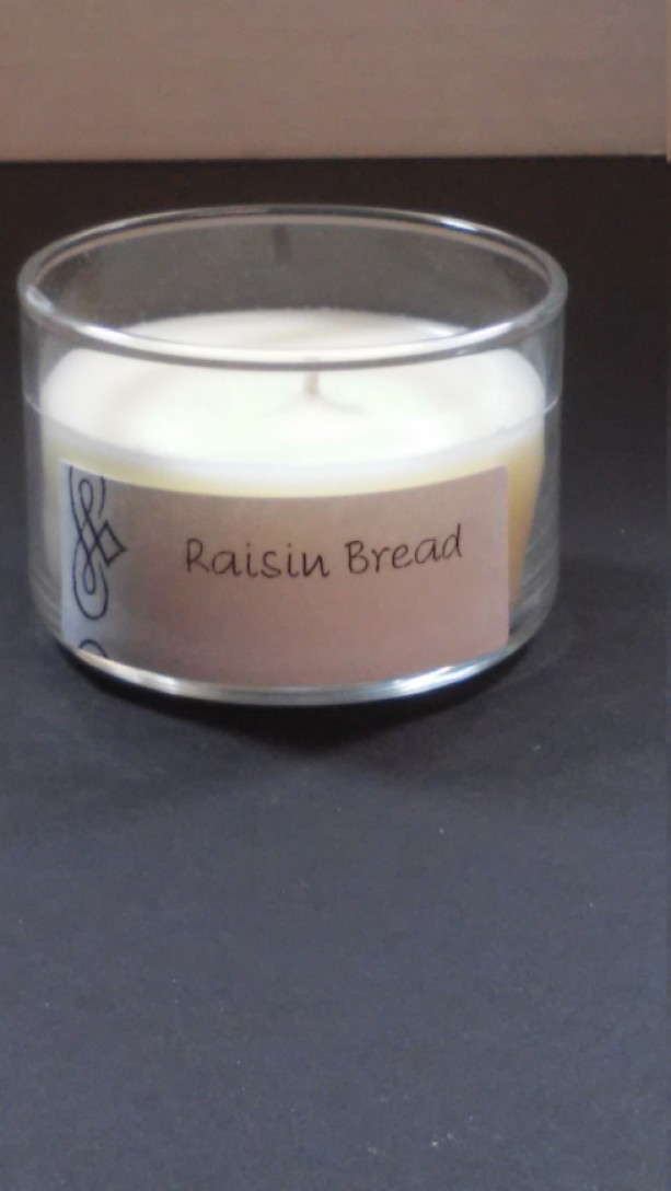 Raisin Bread 4oz Scented Candle by Sweet Amenity Fragrances