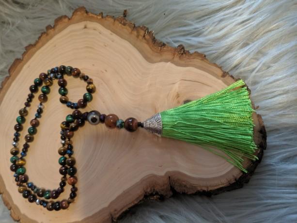 Mala Prayer Beads 108-Semi Precious Gemstones