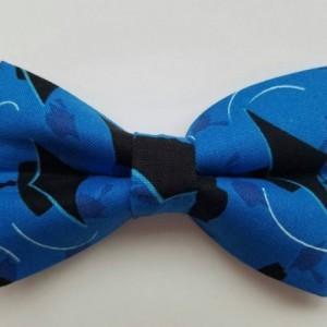 Graduation cap pet bow tie