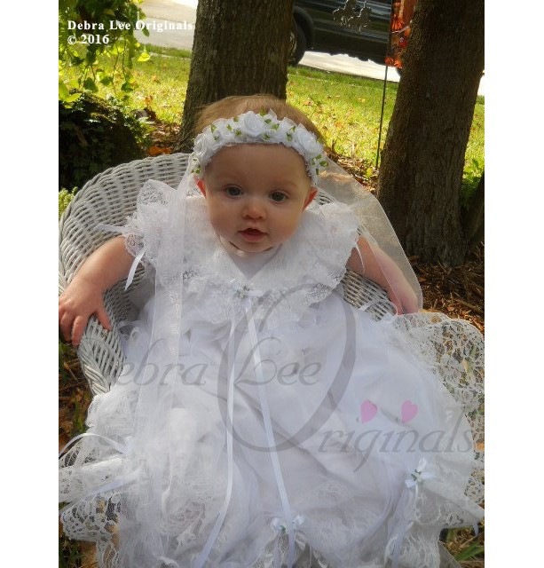 Mary Baby Girl Blessing/Christening Gown