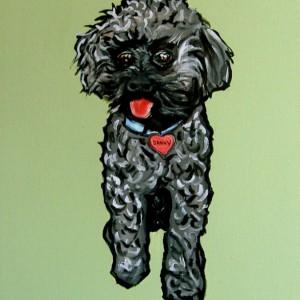 DOG Print- RESCUED Dog - DANNY - Signed by Artist A.V.Apostle